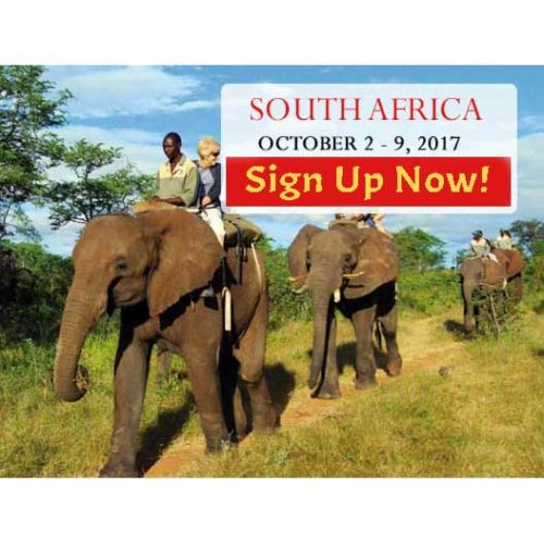 South Africa Trip Sign Up