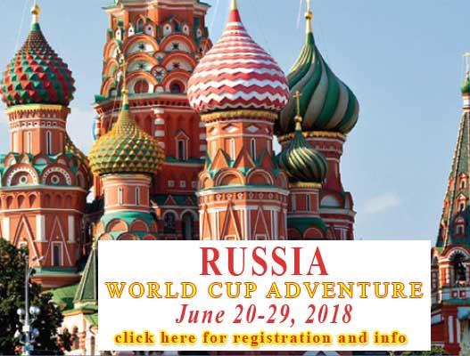 Russia - World Cup Adventure - Travel-O-Ganza