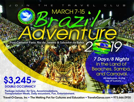 Brazil Adventure 2019 - Travel-O-Ganza