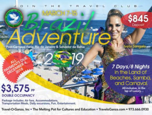 Avail Services of Leading Tour Agency for Adventure Trip at Brazil