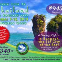 2019 Dream Trip to Thailand - Travel O Ganza