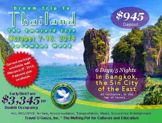 2019 Dream Trip to Thailand - Travel O Ganza